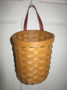Longaberger Foyer Basket Warm Brown