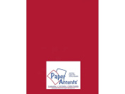 Accent Design Paper Accents ADP8511-5.882 Pearlized 85x11 Dark Red Cardstock