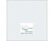 Accent Design Paper Accents ADP1212-25.858 No.80 30cm x 30cm Ice Silver Paper Pearlized Card Stock