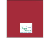 Accent Design Paper Accents ADP1212-25.868 No.80 30cm x 30cm Garnet Paper Pearlized Card Stock