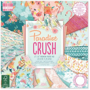 Premium Craft Cardstock First Edition Paradise 20cm x 20cm Scrapbook Papers