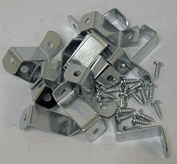2.5cm Offset Clips 100 Pack With Screws