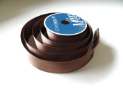 Glossy Brown 100% Polyester 3.8cm . x 14m Ribbon - Great For Any Occasion!!!