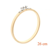 Rely2016 Bamboo Embroidery Hoop Circle Round 13-26cm Cross Stitch Sewing Frame Tools