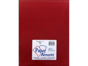 Accent Design Paper Accents ADP8511-5.916 22cm x 28cm Red Vellum