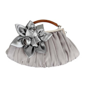 Daisyley Floral Embellish Sheer Chiffon Exterior Party Clutch-Evening Out Collection
