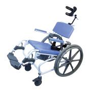 Healthline Ezee Life Aluminium Self-Propelled Tilt Shower Commode Chair