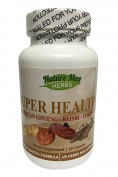 Nature Max Herbs Super Health (American Ginseng, Reishi, Cordyceps) - 60 capsules
