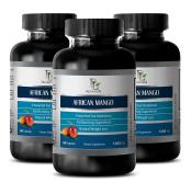 Irvingia Gabonensis - AFRICAN MANGO EXTRACT - Reduces anxiety - 3 Bottles 180 capsules