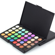 Creazy 40 Colours Cosmetic Powder Eyeshadow Palette Makeup Set Matt Available