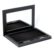 Large Black Empty Magnetic Makeup Palette with Mirror