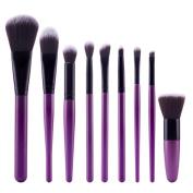 SMTSMT Super Soft 9Pcs Cosmetic Brush Makeup Brush Sets Kits Tools