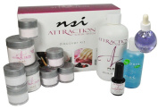 nsi Attraction Nail Acrylic System Discover Kit The unique flow and spring back action are unsurpassed.