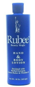 Rubee Hand & Body Lotion 470ml (Case of 6) by Rubee