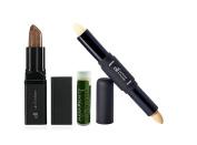 e.l.f. Lip Exfoliator, e.l.f Lip Primer & Plumper & Jarosa Beauty Bee Organic Peppermint Lip Balm Lip Treatment Kit
