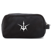 Code Geass Canvas Dual Two Compartment Travel Toiletry Dopp Kit Bag