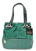 B. Makowsky Women Handbags Tote, Emerald