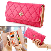 Oct17 Fashion Lady Faux Leather Women Wallet Clutch Long Purse Card Holder Handbag