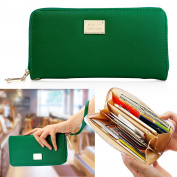 Oct17 Fashion Lady Full Zipper Women Wallet Clutch Long Purse Card Holder Handbag