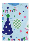 Happy Birthday Vinyl Tablecloth Party Flannel Backed Table Cover