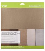 Cricut Pebbled Faux Leather Sampler 30cm x 30cm 5/Pkg