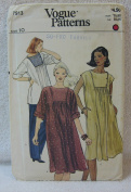 Vogue Pattern 7913 - Misses Maternity Tunic or Dress