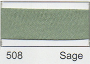 Essential Trimmings R77725/508 | Sage Polycotton Bias Binding | 25mm x 20m