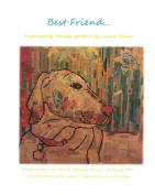 Best Friend Dog Collage Wall Hanging Quilt Pattern by Fiberworks