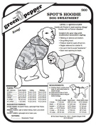 Spot's Hoodie – Dog Sweatshirt Pet Coat #560 Sewing Pattern