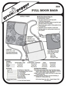 Full Moon Bag Purse #559 Sewing Pattern
