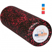 USA Foam Roller, Extra Firm High Density Foam Rollers for Exercise - Available in 90cm , 46cm , 30cm (Choose Colour) with 3 Year Warranty