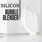 Silicone Bubble Blender DD & DEE'S Clear Makeup Applicator Sponge Foundation Smoother Sponge Even Foundation Coverage & ZERO Waste Makeup Gentle Comfort Gel Applicator