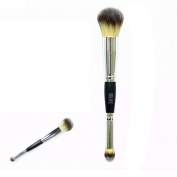 Makeup Brush, Hatop Double Head Cosmetic Contour Face Blush Eyeshadow Powder Foundation Makeup Brush