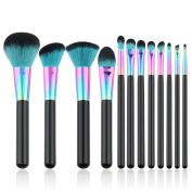 Makeup Brush, Hatop 12PCS Cosmetic Makeup Brush Brushes Set Foundation Powder Eyeshadow Brush