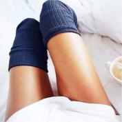 OVERMAL Women Winter Knitted Over knee Long Boot Thigh-High Warm Socks Leggings