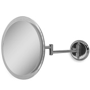 Zadro 5X Wall-Mounted Makeup Mirror in Chrome