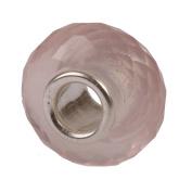 Authentic Novobeads Gemstones 7219 Faceted Rose Quartz