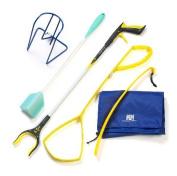 ADL Hip Kit for Home Patients -Reacher-Shoe Horn-Sock Aid-Sponge