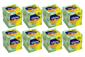 Kleenex Anti-Viral Facial Tissue Cube,68 3-PLY Tissues- Pack of 8