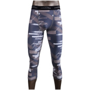 COOLOMG Compression Pants Running Tights 3/4 Tights Capri Pants Leggings 10+ Colours/Patterns Shorts Baselayer Available Quick Dry for Men Youth Boy