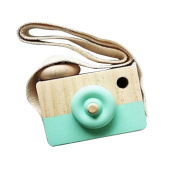 Wooden Camera Toys Rukiwa Baby Kids Cute Accessory Safe And Natural Toys