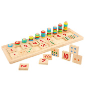 Education toys CocoMarket Wooden Puzzle Math LearningTool Toy