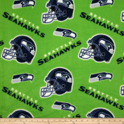 NFL Fleece Seattle Seahawks Fabric By The Yard