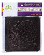 Jack Richeson 210906 Paintstik Rubbing Plate Happy Holidays Decorative Item