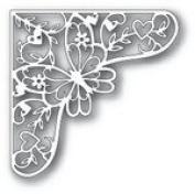 Tutti Designs Thin Metal Die - Butterfly Corner - Tutti-107