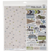 Echo Park Paper Company My Little Boy Collection Kit for Scrapbooking