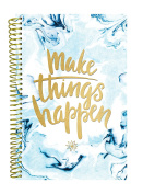 bloom daily planners Undated Planner (+) Fashion Agenda (+) Weekly Diary (+) Monthly Datebook Calendar (+) Calendar Year January - December UNDATED (+) 15cm x 21cm - Make Things Happen