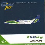 GEMGJ1600 1:400 Gemini Jets MASwings ATR-72-500 Reg #9M-MWA
