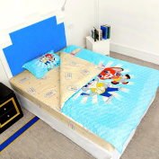 Zipper Bedding Set Queen Size For Boys
