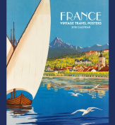 France/Vintage Travel 2018 Wall Calendar